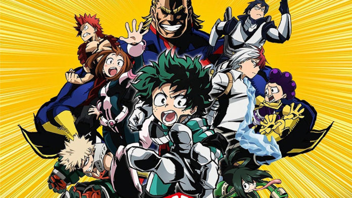 Boku no Hero Academira Filme 2018