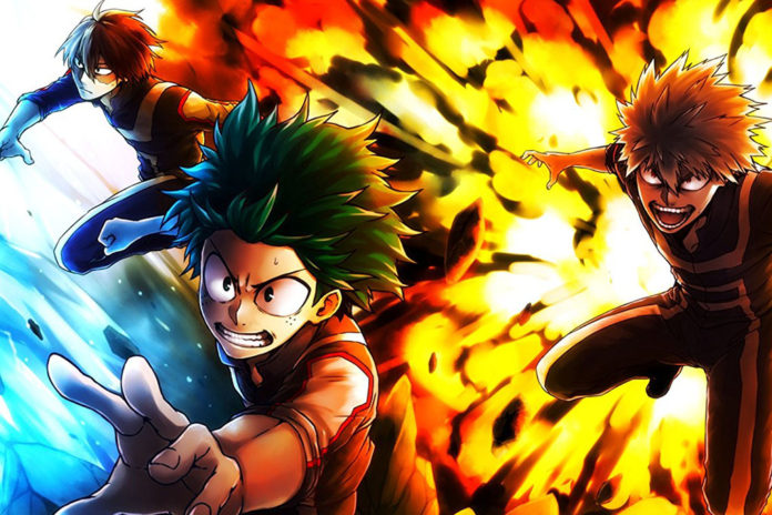 Personagens Boku no Hero Academia