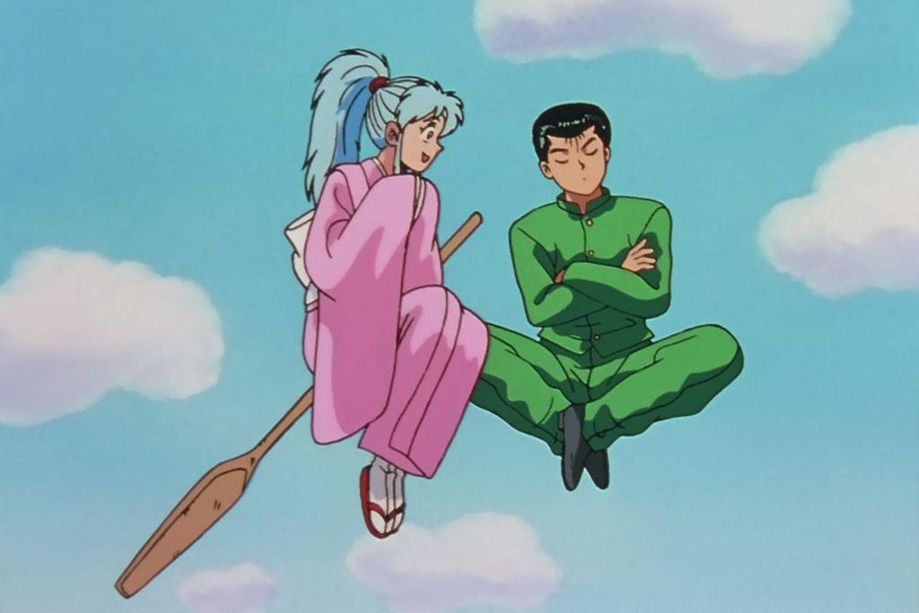 Resultado de imagem para yusuke e botan yu yu hakusho
