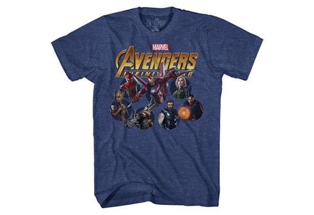 Camiseta Vingadores: Guerra Infinita Heróis