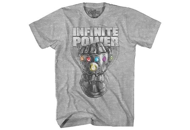 Camiseta Vingadores: Guerra Infinita Manopla do Infinito