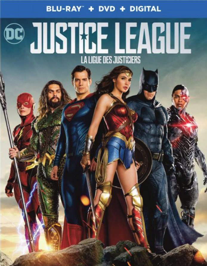 Capa Blu-ray de Liga da Justiça