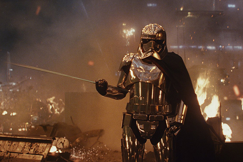 Capitã Phasma Star Wars: Os Últimos Jedi