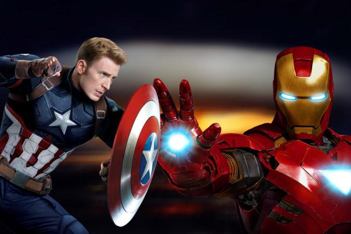 Capitão América X Homem de Ferro