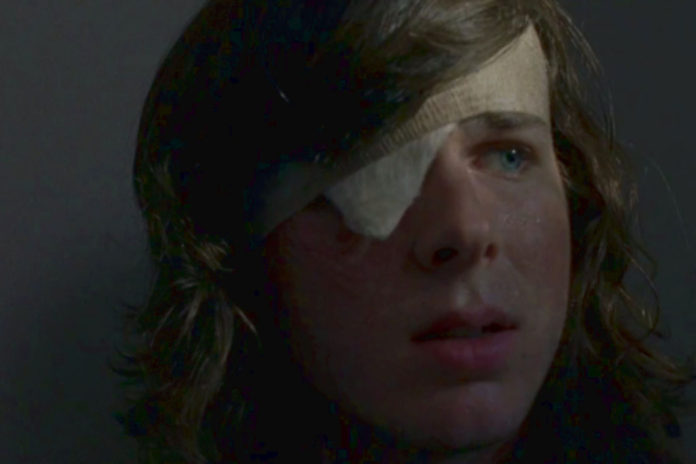 Carl The Walking Dead 8° Temporada