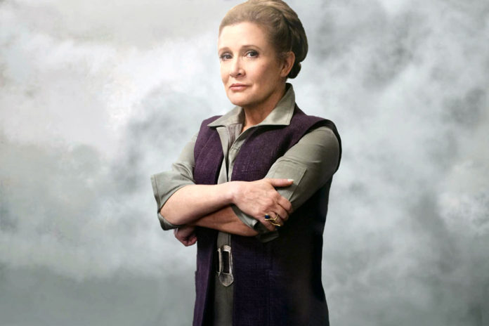Carrie Fisher Star Wars: Os Últimos Jedi