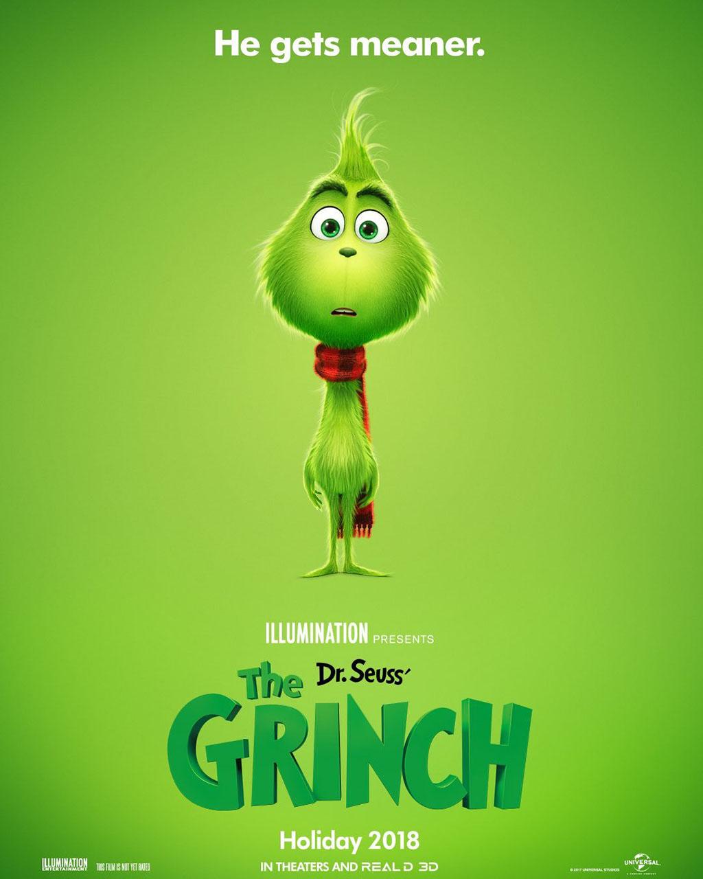 Poster Como o Grinch Roubou o Natal