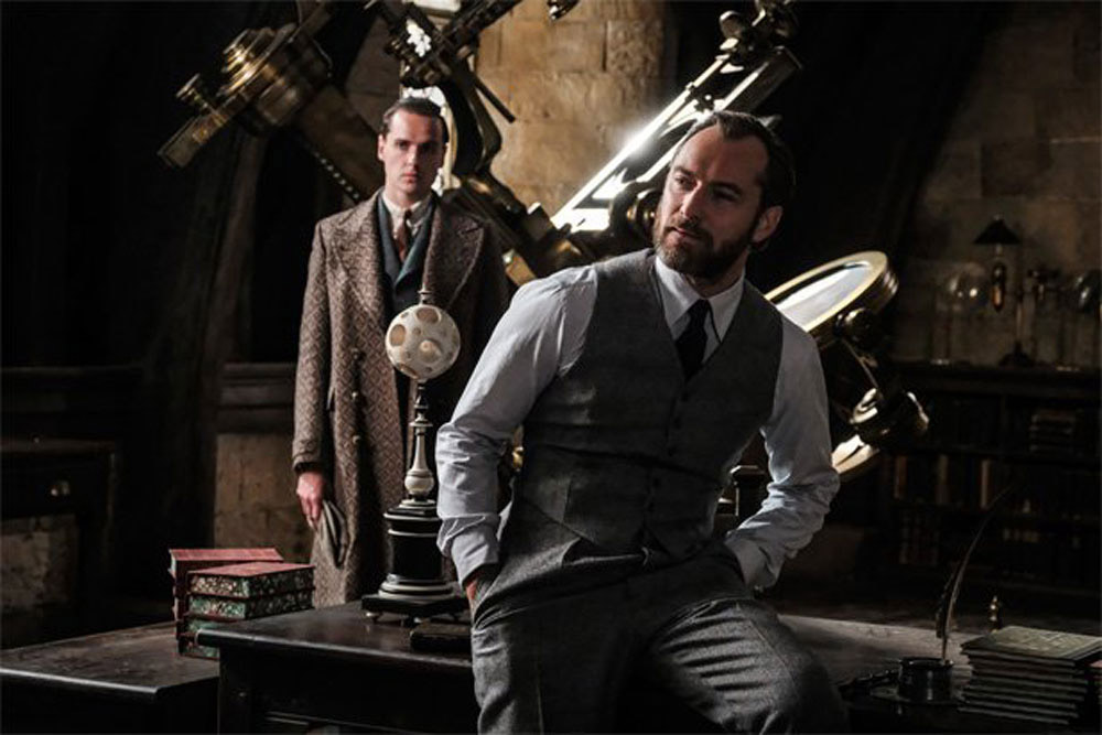 Albus Dumbledore e Gellert Grindelwald Animais Fantásticos: Os Crimes de Grindelwald