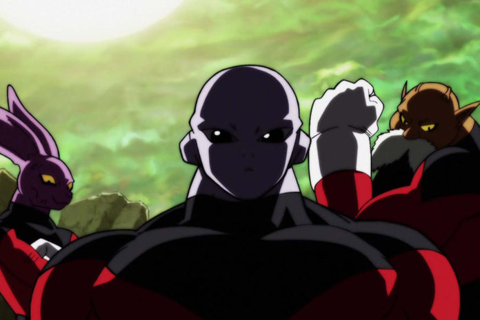 Dyspo, Jiren e Toppo Torneio do Poder Dragon Ball Super