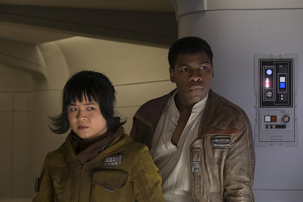 Finn e Rose Star Wars: Os Últimos Jedi