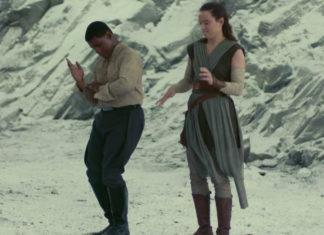 Finn e Rey Star Wars: Os Últimos Jedi