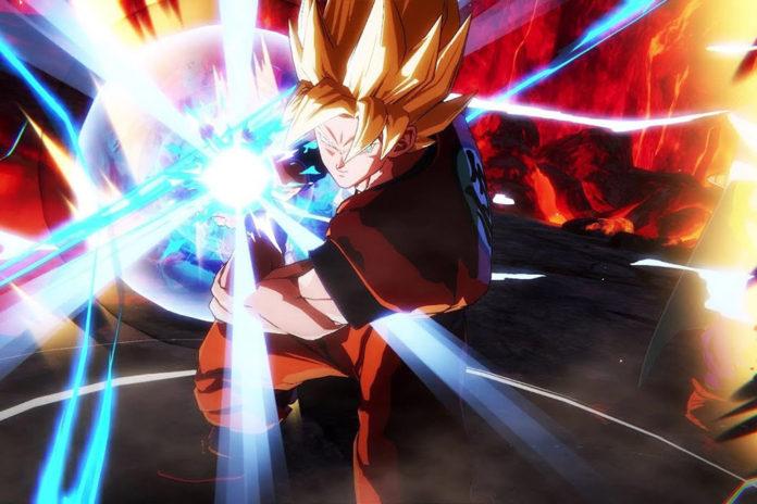 Goku Kamehameha Dragon Ball FighterZ