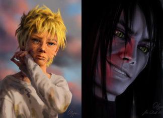 Naruto e Orochimaru Olggah