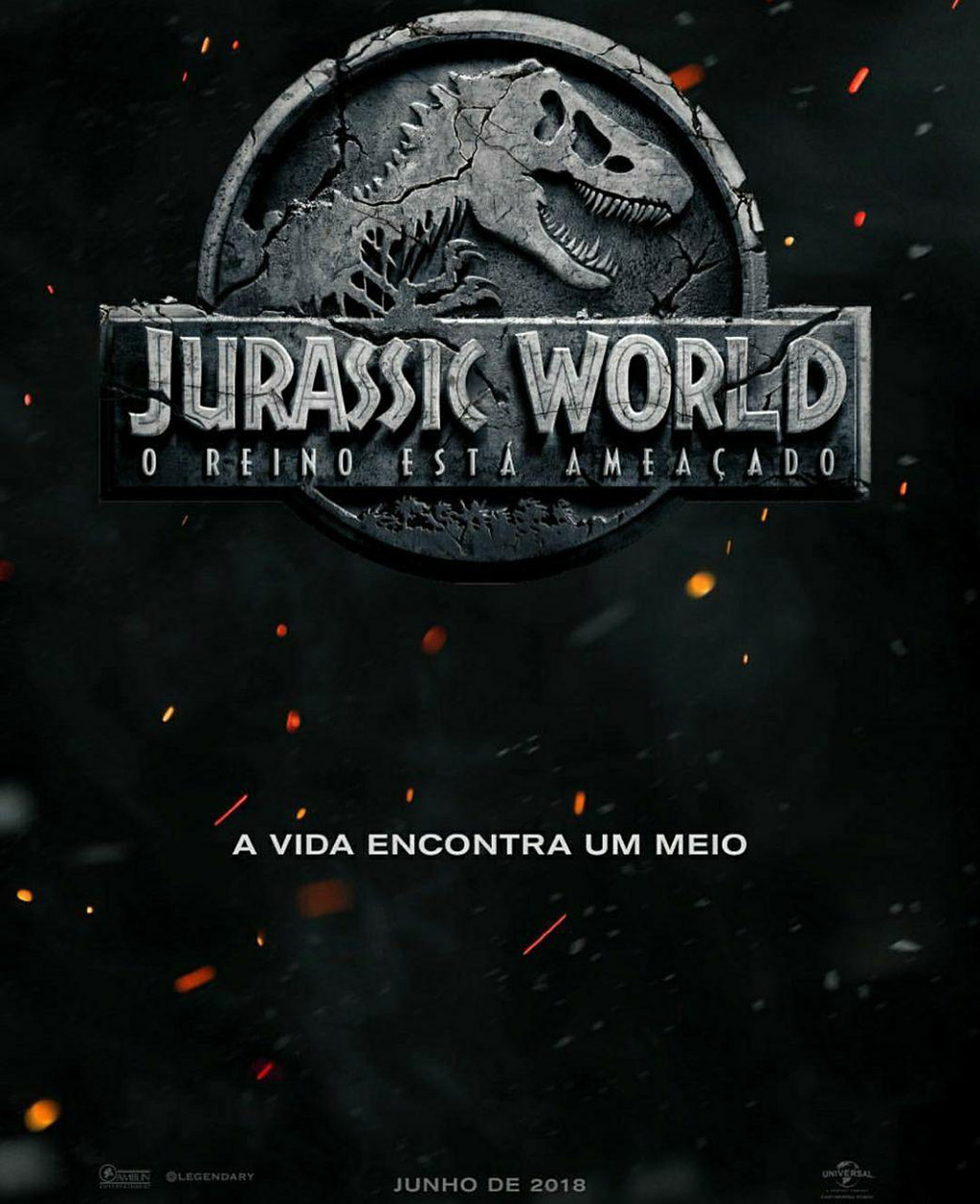 Jurassic World: Reino Ameaçado Cartaz