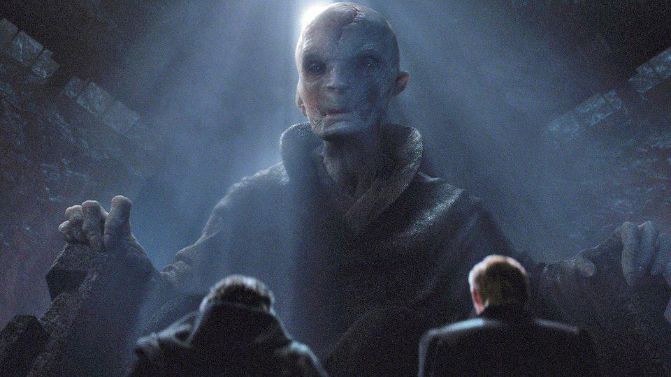 Líder Supremo Snoke, Kylo Ren e General Hux