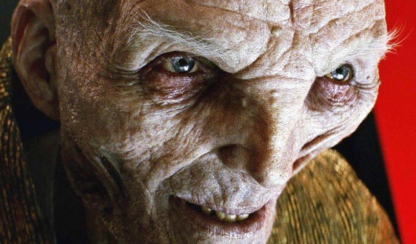 Líder Supremo Snoke Star Wars: Os Últimos Jedi Face