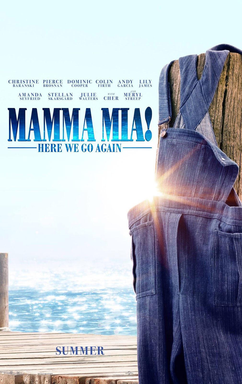 Poster Mamma Mia: Lá Vamos Nós de Novo!