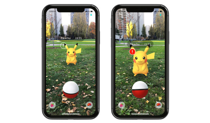 AR+ Pokémon GO iPhone 02