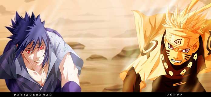 Naruto e Sasuke os mais fortes de Konoha 01