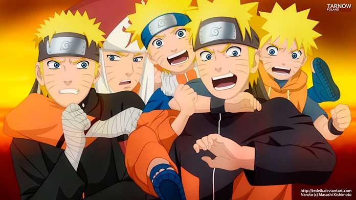 A evolução do Naruto