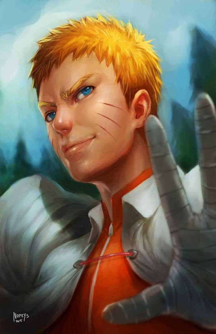 Naruto já é um homem adulto