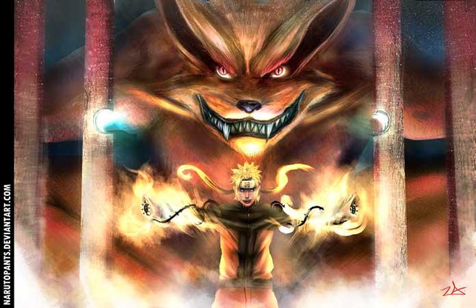 Naruto e Kurama