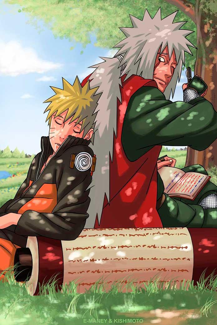 Os mestres do Naruto 01