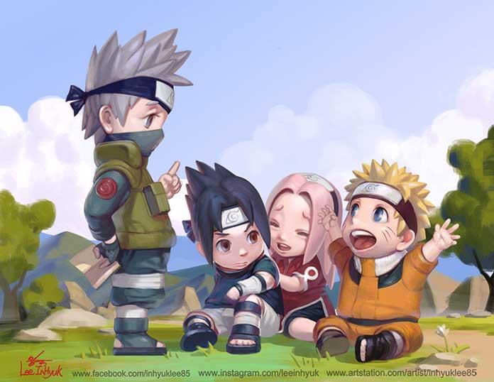 Os mestres do Naruto 03
