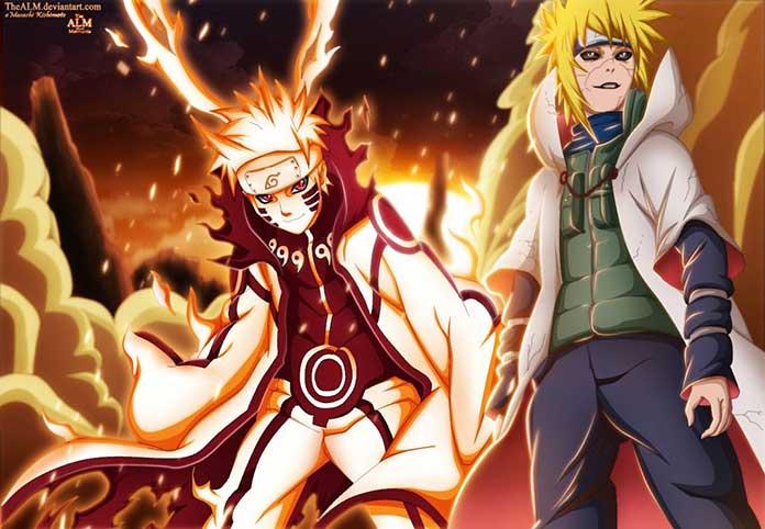 Naruto e Minato 01