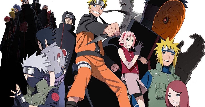 Naruto Shippuden heróis e vilões reunidos