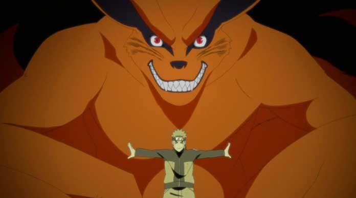 Naruto Shippuden Kurama e Naruto