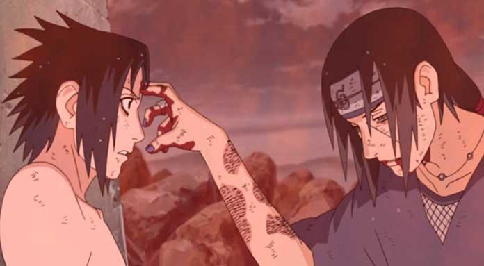Naruto Shippuden a morte de Itachi