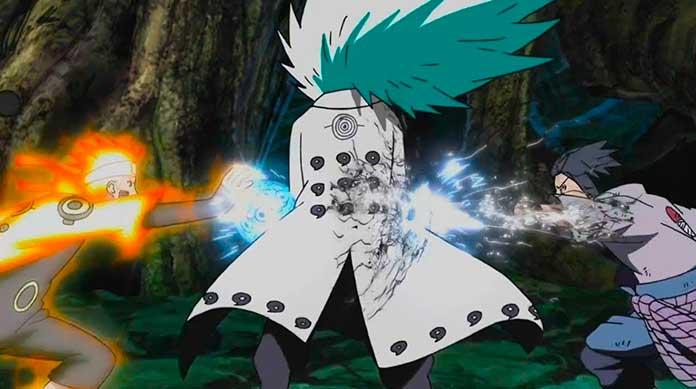 Naruto Shippuden Naruto e Sasuke vs Madara