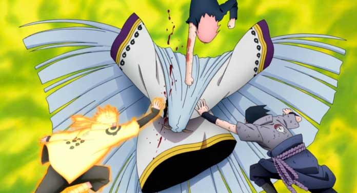 Naruto Shippuden Time 7 vs Kaguya