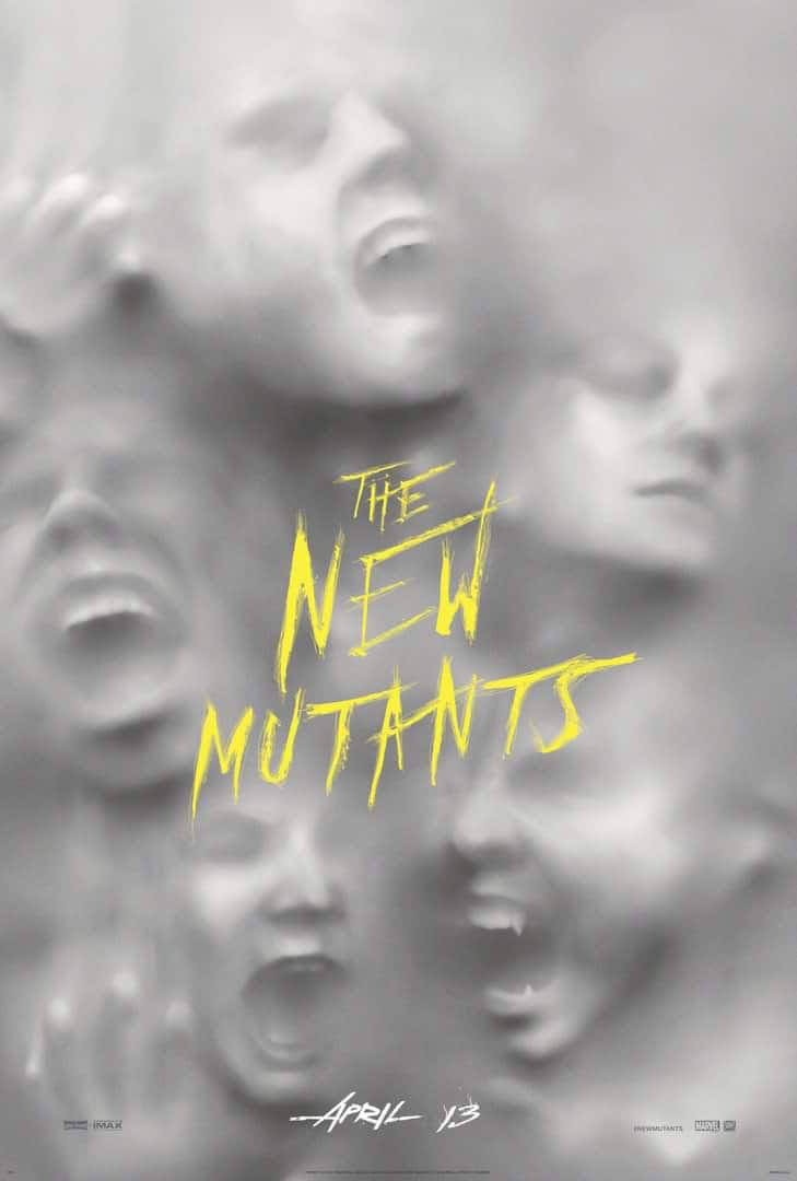 Novos Mutantes Cartaz