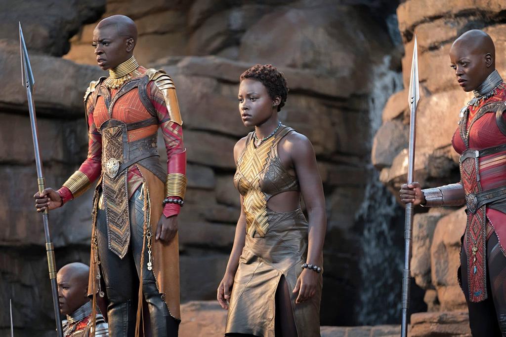 Okoye e Nakia Pantera Negra