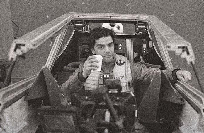 Oscar Isaac nos Bastidores Star Wars: Os Últimos Jedi