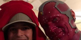 Paul Bettany o Visão em Vingadores 4