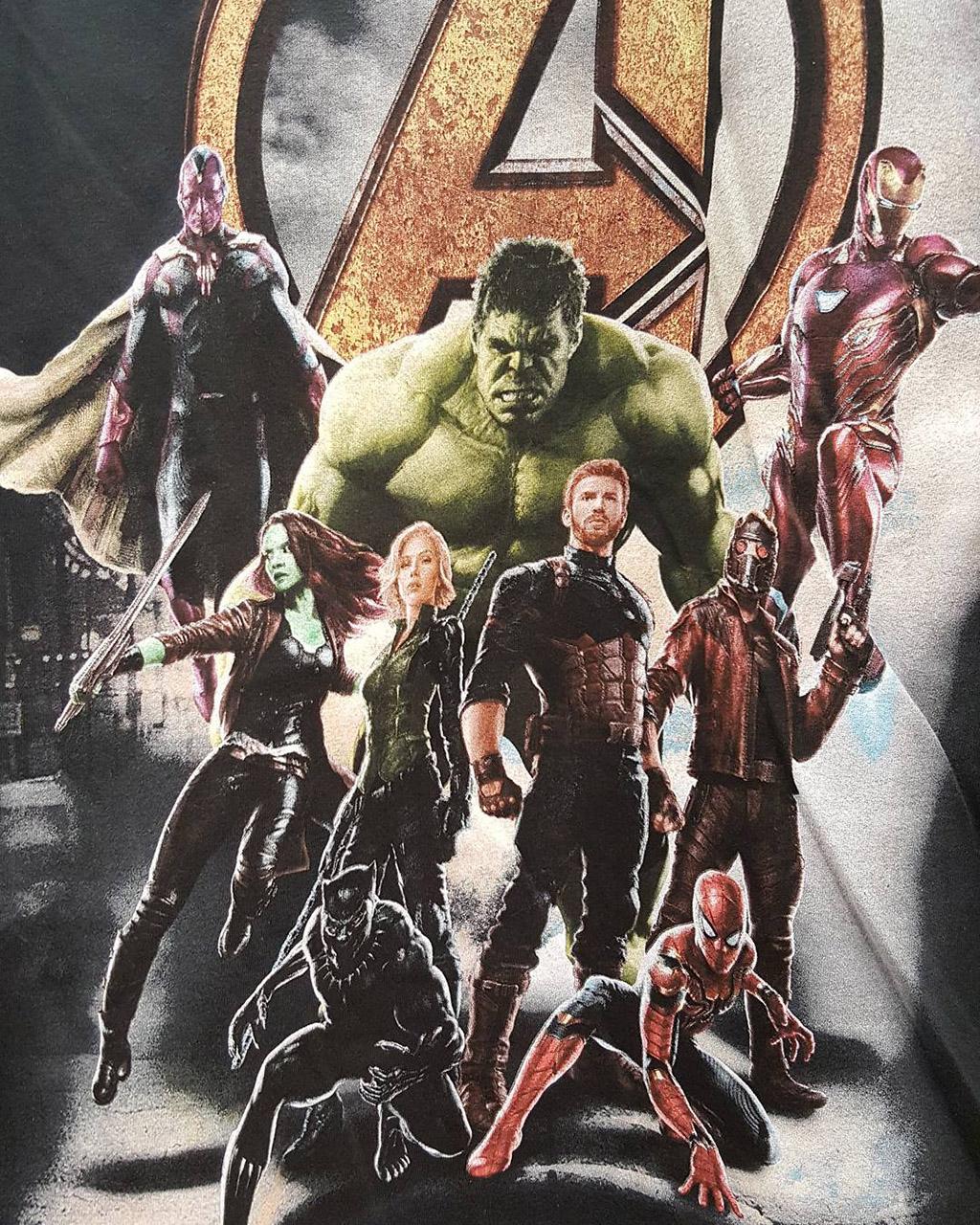 Poster Vingadores e Guardiões Vingadores: Guerra Infinita