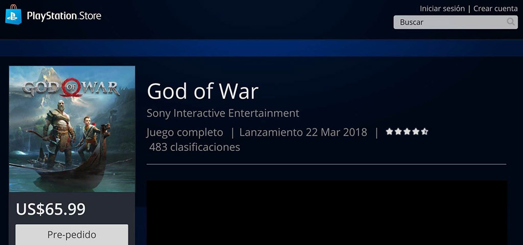 Revelado data de lançamento God of War PSN