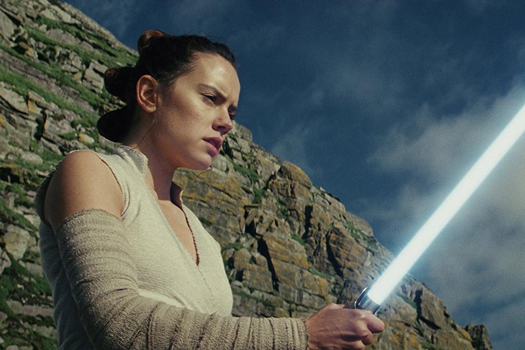 Rey sabre de luz Star Wars: Os Últimos Jedi