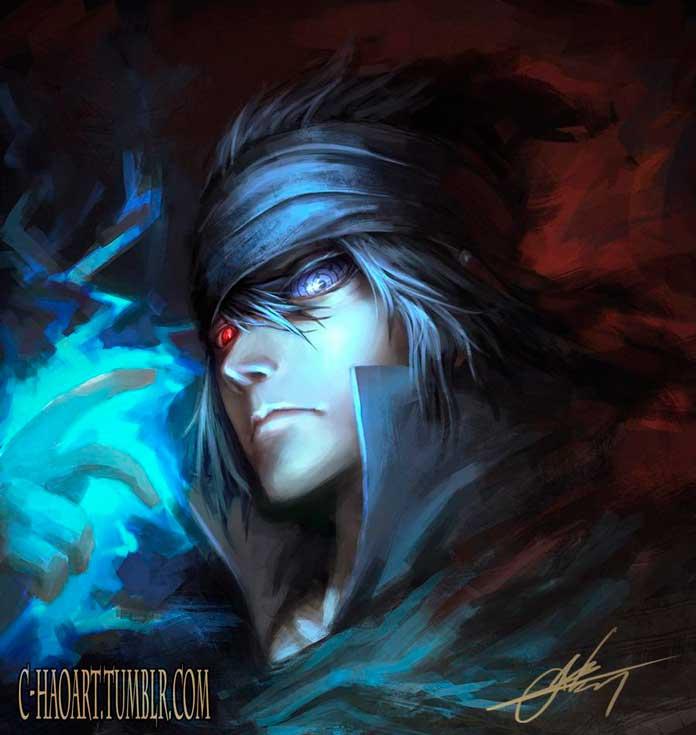 Sasuke Uchiha personagens de Naruto 09