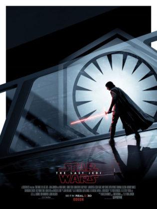 Star Wars: Os Últimos Jedi Poster Kylo Ren