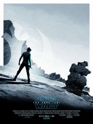Star Wars: Os Últimos Jedi Poster Rey