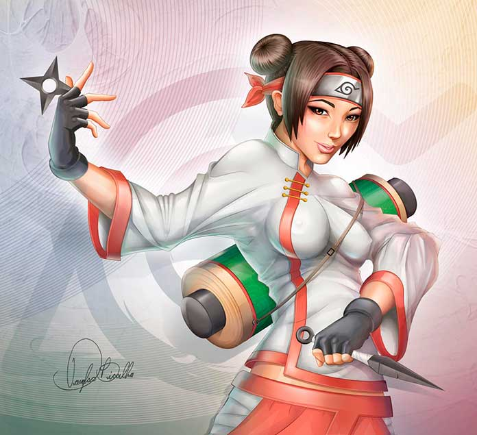 Tenten personagens de Naruto 14