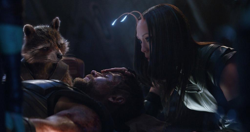 Thor aparece com os Guardiões em nova foto de Vingadores: Guerra Infinita