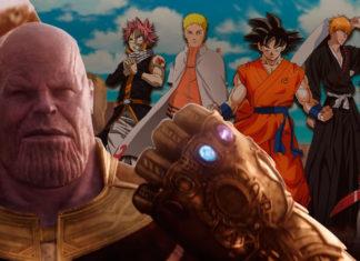Trailer Vingadores: Guerra Infinita Animes
