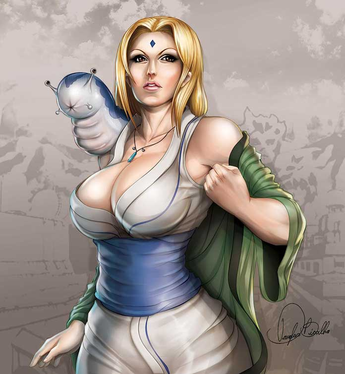 Tsunade personagens de Naruto 17