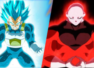 Vegeta Jiren Dragon Ball Super