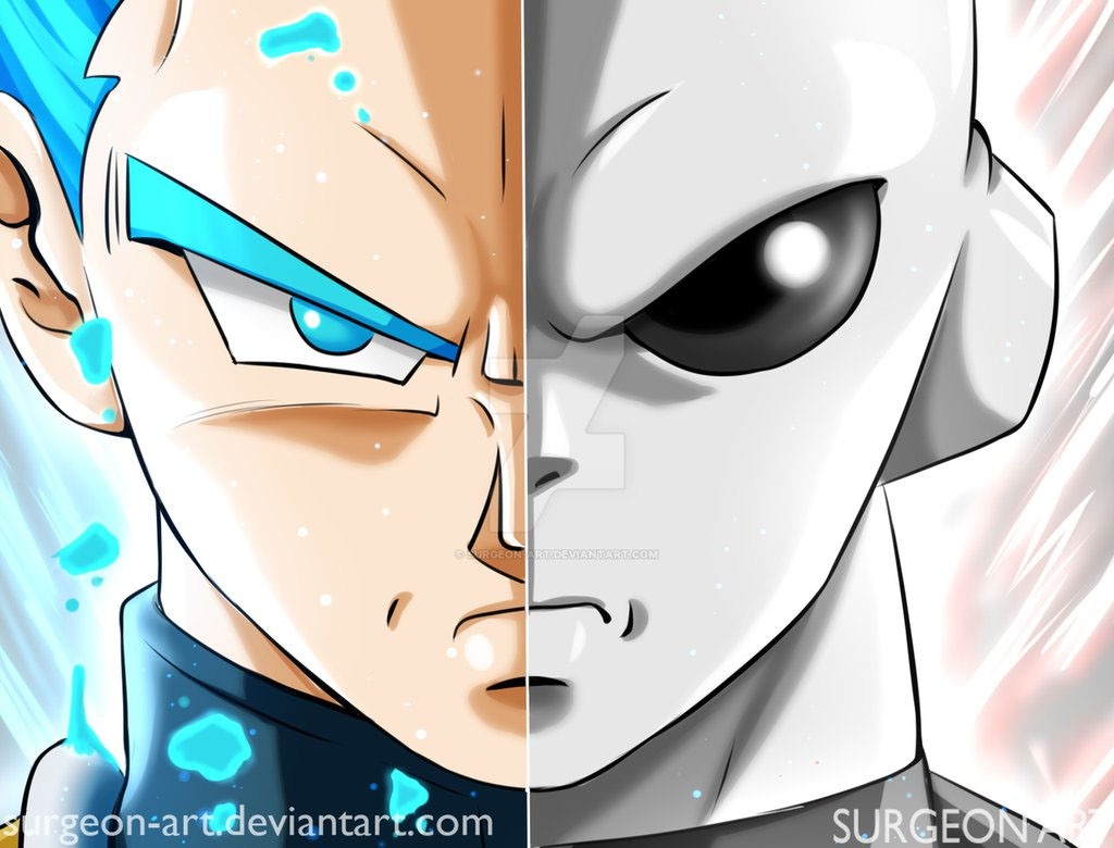 Vegeta vs Jiren Dragon Ball Super